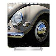 Vintage Beetle Shower Curtain