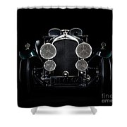 Vintage Bentley 4.5 Liter Shower Curtain