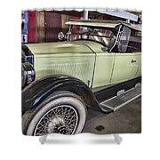 Vintage Bugatti  Shower Curtain