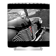 Vintage Buick 8 Shower Curtain