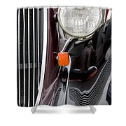Vintage Car 5933 Shower Curtain