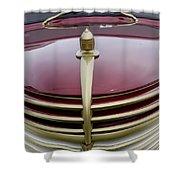 Vintage Car 5950 Shower Curtain
