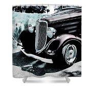 Vintage Ford Car Art 1 Shower Curtain