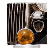 Vintage Car Details 6294 Shower Curtain