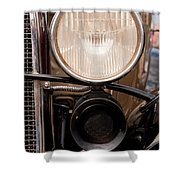 Vintage Car Details 6295 Shower Curtain