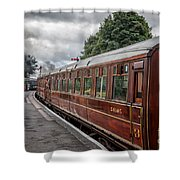 Vintage Carriages Shower Curtain