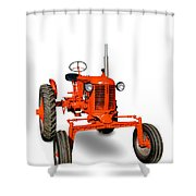 Vintage Case Tractor Shower Curtain