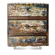 Vintage Chest Of  Drawers Shower Curtain