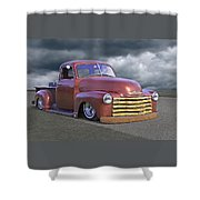 Vintage Chevy 1949 Shower Curtain