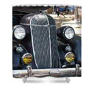 Vintage Chrysler Automobile Poster Look IIi Usa Shower Curtain
