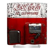 Vintage Coca Cola Shower Curtain