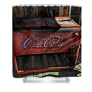 Vintage Coca-cola Shower Curtain