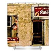 Vintage Colas Shower Curtain