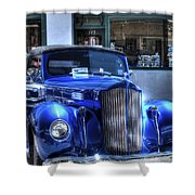 Vintage Cruise Cars 3 Shower Curtain