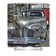 Vintage Cruise Cars 6 Shower Curtain