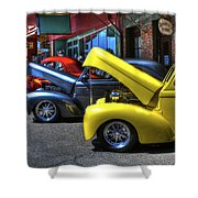 Vintage Cruise Cars 7 Shower Curtain