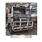 Vintage Dodge Truck Shower Curtain