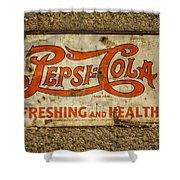 Vintage Drink Pepsi Cola 5 Cents Dsc07157 Shower Curtain
