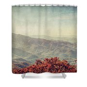 Vintage Fall Shower Curtain
