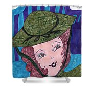 Vintage Fifties Shower Curtain