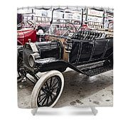 Vintage Ford Motor Vehicle Shower Curtain