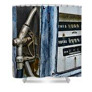 Vintage Gas Pump 2 Shower Curtain
