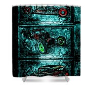 Vintage Hotrods Shower Curtain