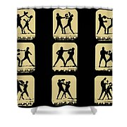 Vintage - How To Box Shower Curtain by Digital Reproductions