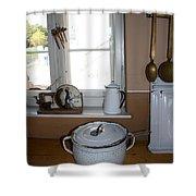 Vintage Kitchenware Shower Curtain