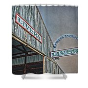 Vintage Livery Shower Curtain