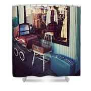 Vintage Memories Shower Curtain