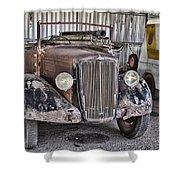 Vintage Morris Commercial Shower Curtain
