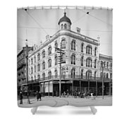 Vintage New Orleans 4 Shower Curtain