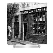 Vintage Paris 13b Shower Curtain