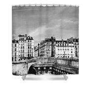 Vintage Paris 5b Shower Curtain