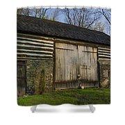 Vintage Pennsylvania Barn Shower Curtain