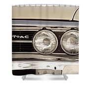 Vintage Pontiac Firebird 1967 Close Up Shower Curtain