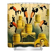Vintage Poster - Circus - Ringling Bros Shower Curtain