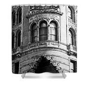Vintage Reading Terminal Market - Philadelphia Shower Curtain
