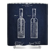 Vintage Rock Candy  Patent Drawing From 1881 Shower Curtain by Aged Pixel