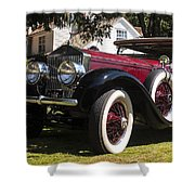 Vintage Rolls Royce Phantom Shower Curtain