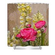 Vintage Romance Shower Curtain