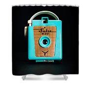 Vintage Sabre 620 Camera Shower Curtain