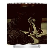 Vintage Skeleton Keys _tassle Nbr 3 Shower Curtain
