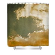 Vintage Sky Shower Curtain