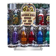 Vintage Soda Siphons Shower Curtain