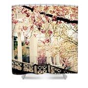 Grecian Garden Shower Curtain