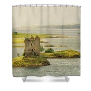 Vintage Stalker - D002482-a Shower Curtain