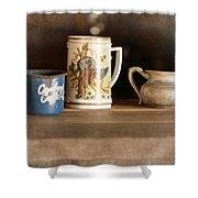 Vintage Still Life Shower Curtain