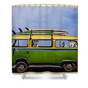 Vintage Surf Van Shower Curtain